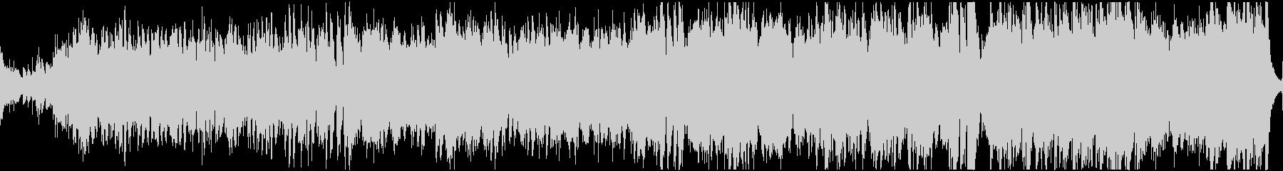 民族調フィールド曲・ループの未再生の波形