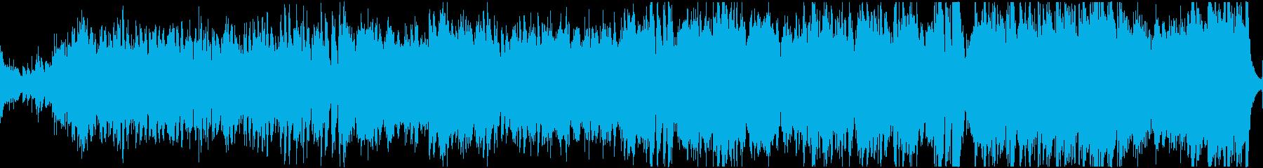 民族調フィールド曲・ループの再生済みの波形