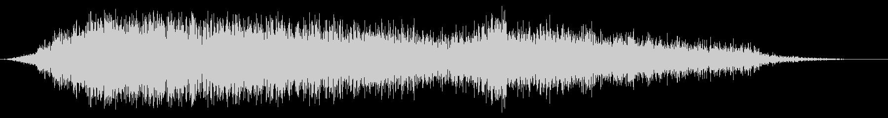 スイープ2によるアプリケーションパスの未再生の波形