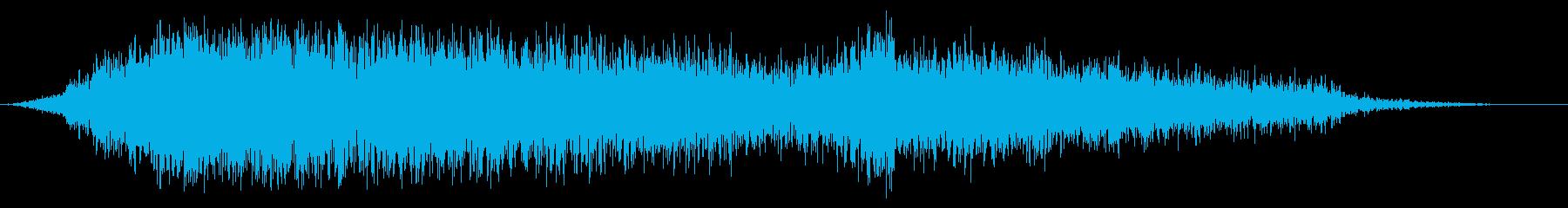 スイープ2によるアプリケーションパスの再生済みの波形