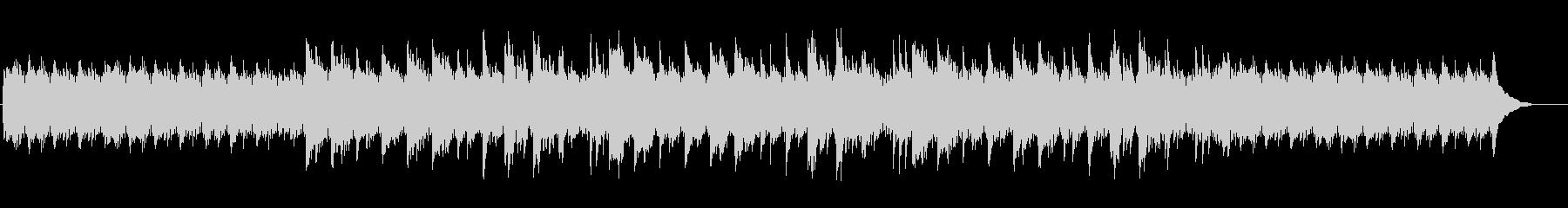 ピアノフレーズが印象的アンビエントBGMの未再生の波形