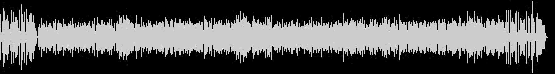 ジャズビッグバンドの軽快なボサノバの未再生の波形