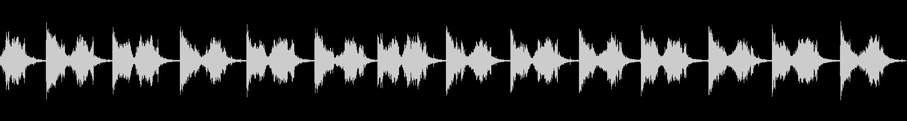 シャープナイフファーストの未再生の波形