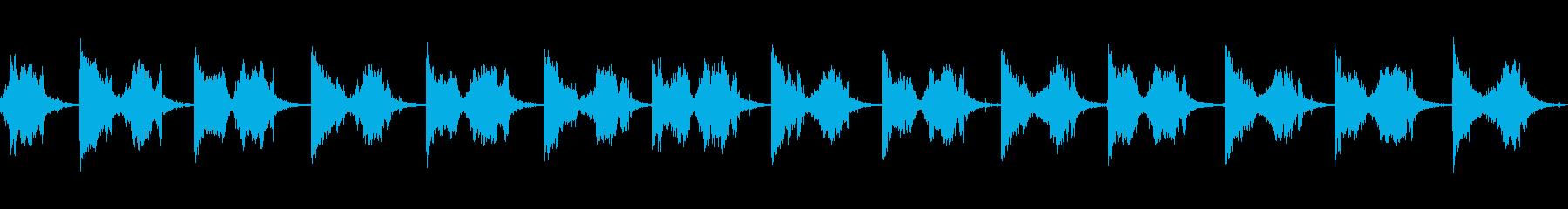 シャープナイフファーストの再生済みの波形