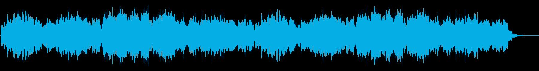 カッコウの森の再生済みの波形