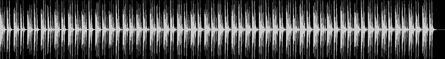 youtube・料理・ピアノ&ピチカートの未再生の波形