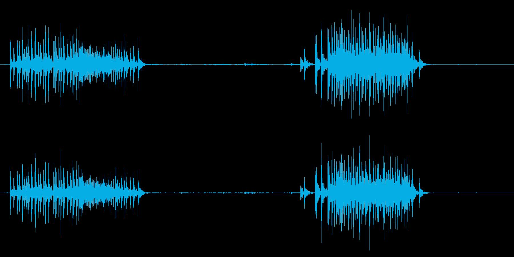 梱包テープディスペンサー-テーピン...の再生済みの波形