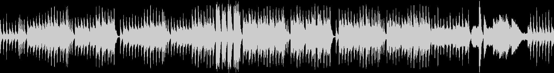 クラシカルで怪しいBGM(ループ仕様)の未再生の波形