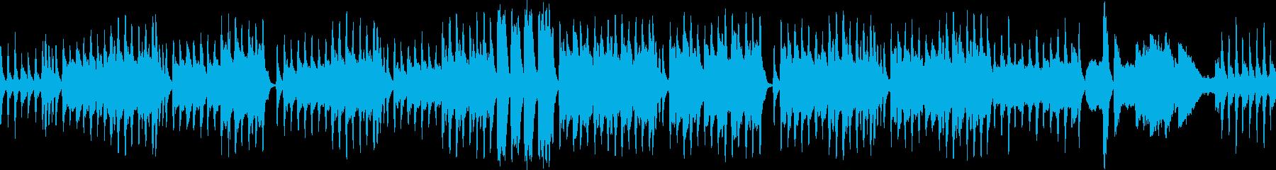 クラシカルで怪しいBGM(ループ仕様)の再生済みの波形