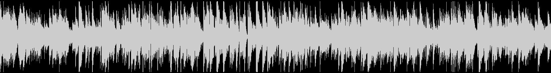 静かなボサノバ、リラックス ※ループ版の未再生の波形