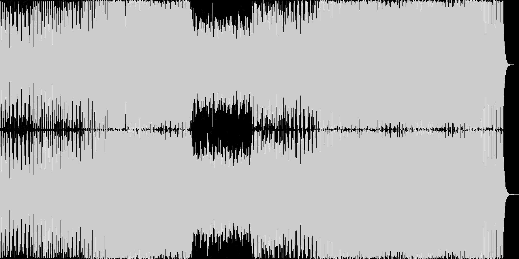 激しめのBig room(EDM)です。の未再生の波形