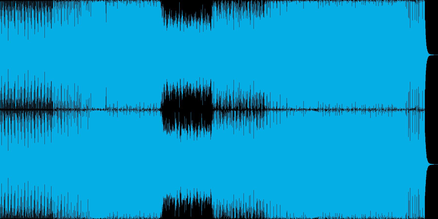 激しめのBig room(EDM)です。の再生済みの波形