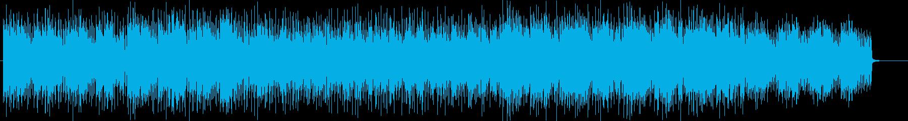 近未来感のあるエレクトロニカの再生済みの波形