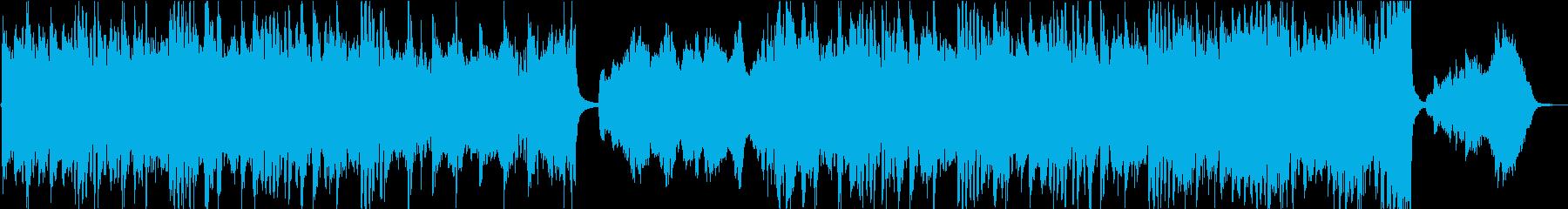壮大で明るいディズニー風オケ(短縮版)の再生済みの波形
