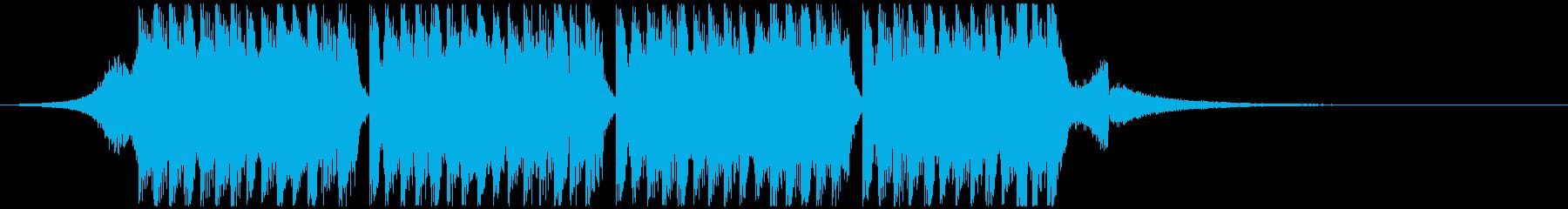スポーツの動機(15秒)の再生済みの波形