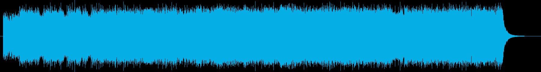 短縮verバンドサウンドの縦ノリなロックの再生済みの波形