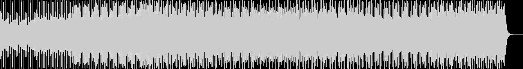 ピアノとギターのシンプルハウスの未再生の波形