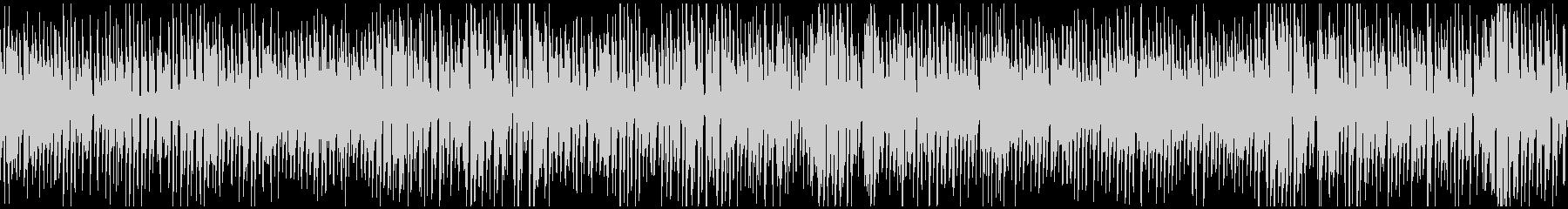 レトロジャズ、ジプシースイング※ループ版の未再生の波形
