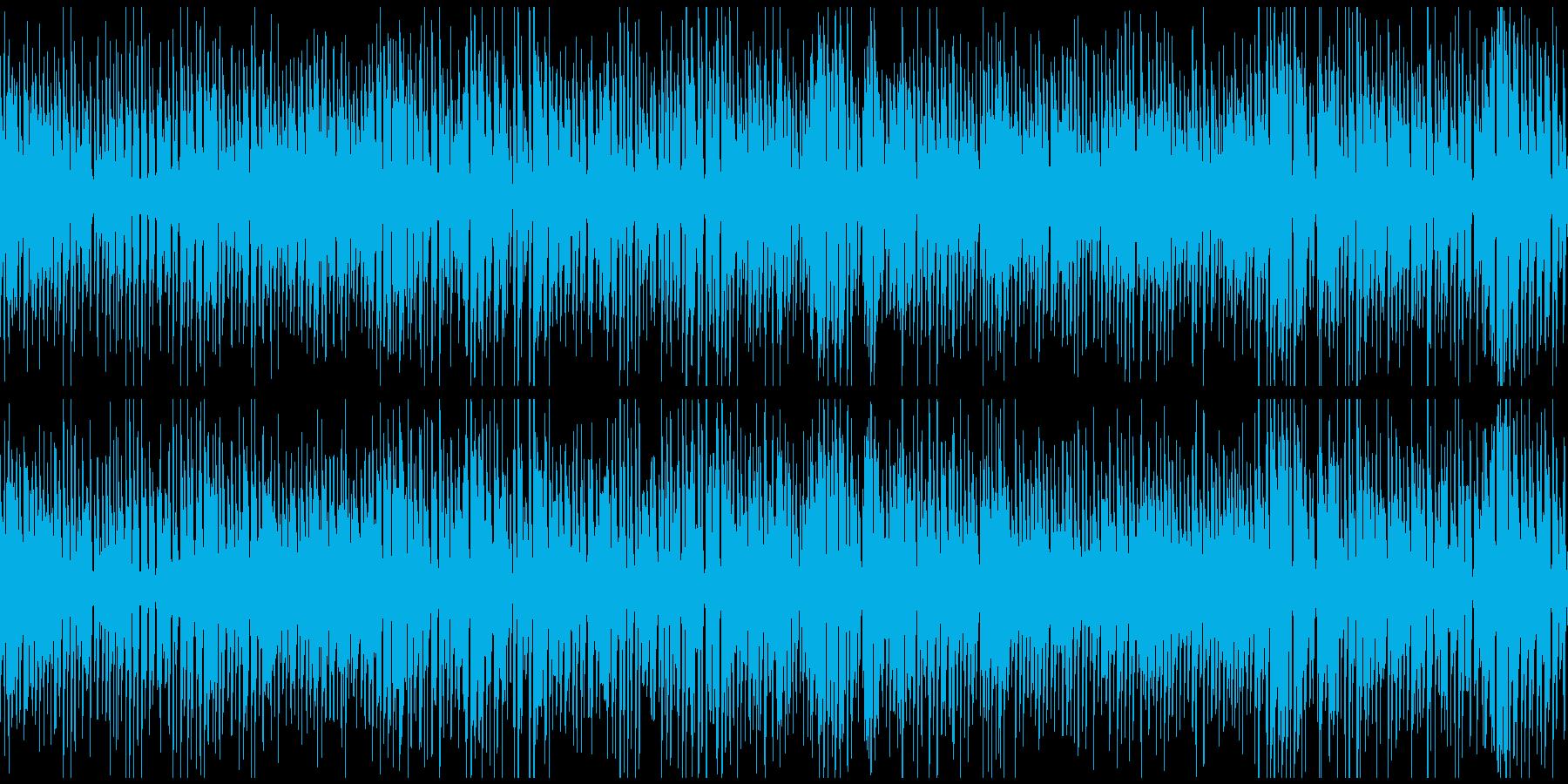 レトロジャズ、ジプシースイング※ループ版の再生済みの波形