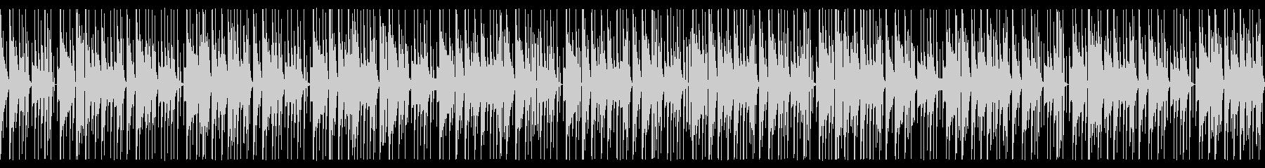 おもちゃ楽器を使ったコミカルなBGMの未再生の波形