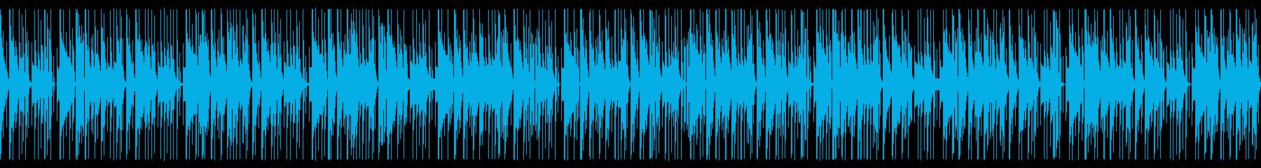 おもちゃ楽器を使ったコミカルなBGMの再生済みの波形