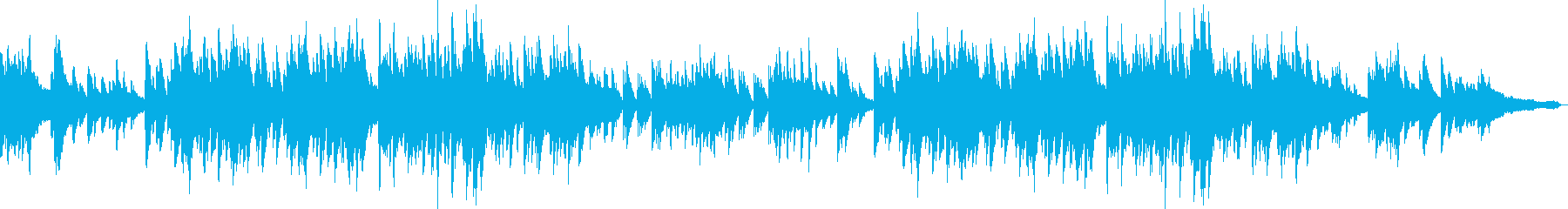 小学校で歌われていそうな合唱風ピアノソロの再生済みの波形
