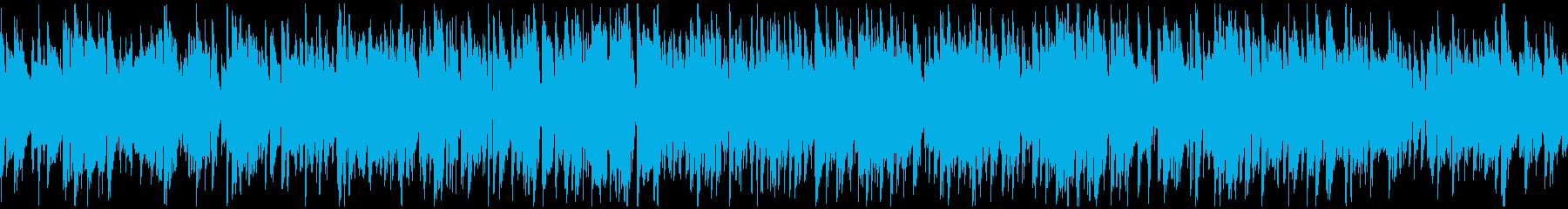 軽快な足取りのライトなジャズ ※ループ版の再生済みの波形