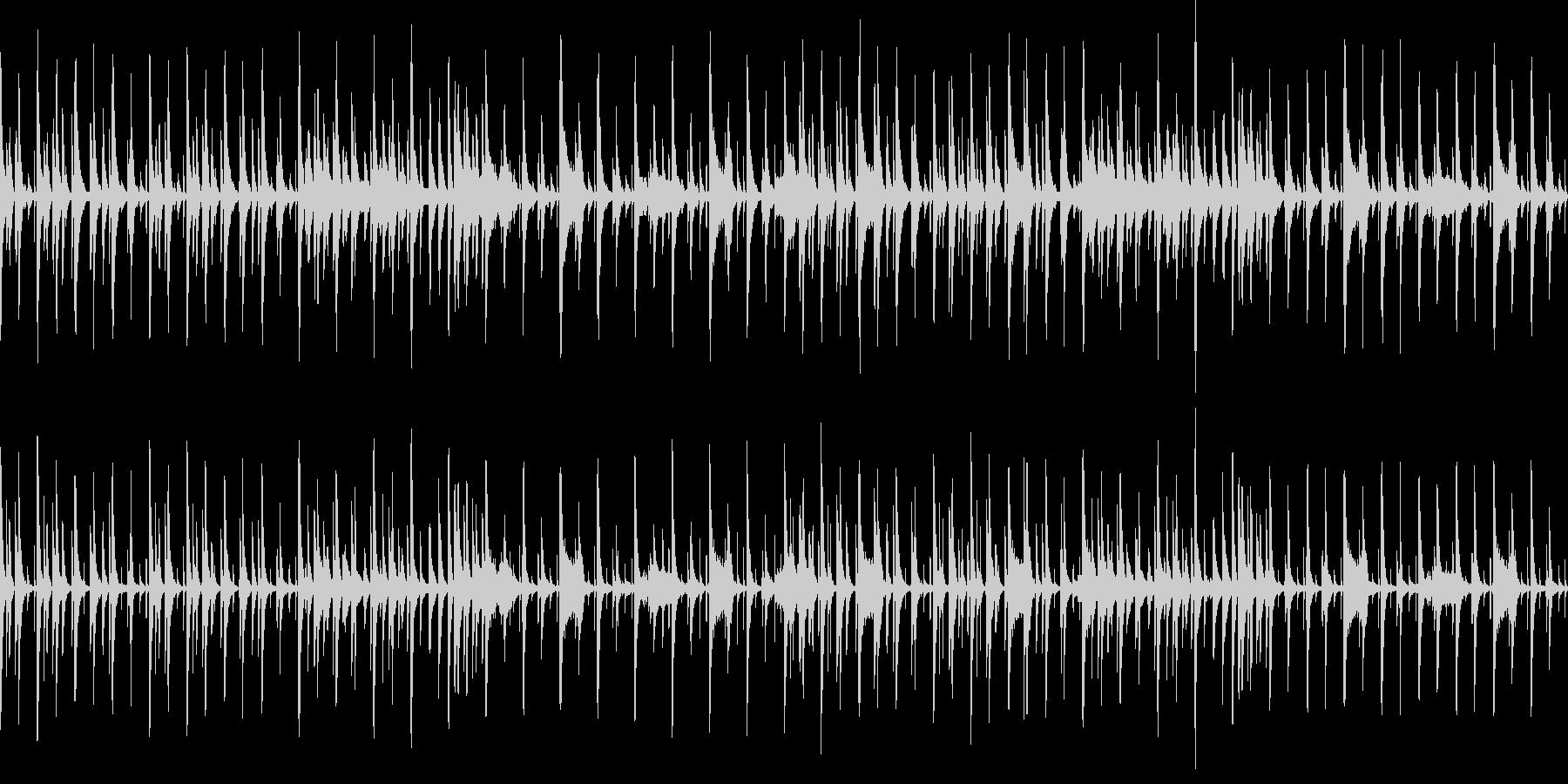 ゆったりのんびり少し間抜けな曲です!の未再生の波形