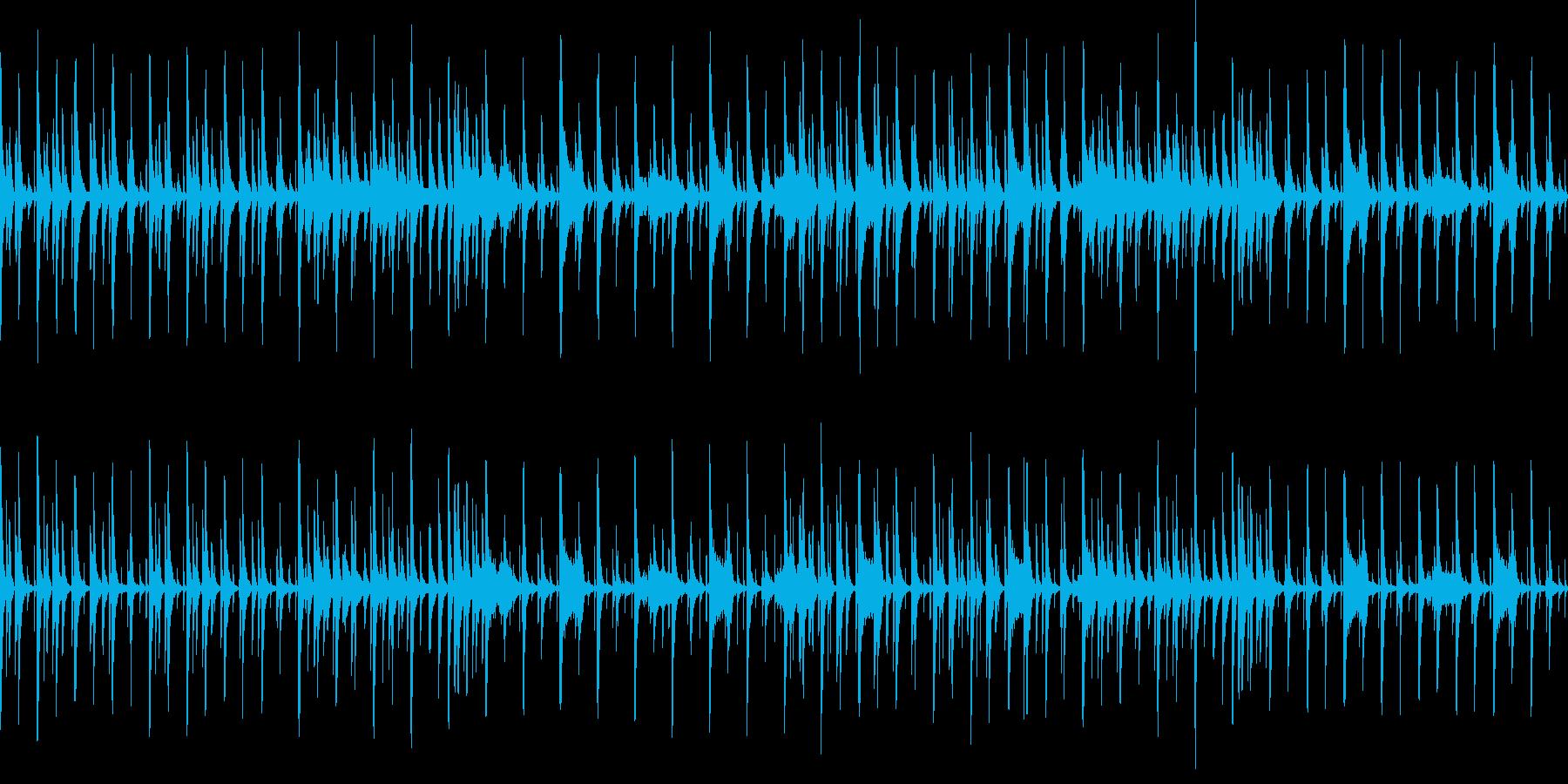 ゆったりのんびり少し間抜けな曲です!の再生済みの波形