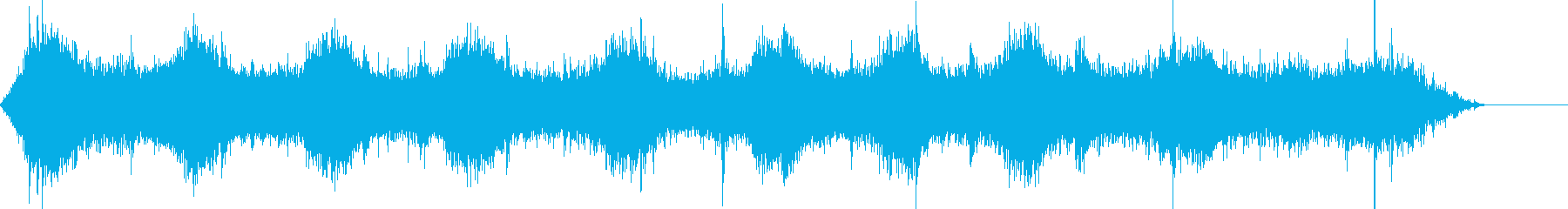 ライド;円形油圧ライドが開始され、...の再生済みの波形