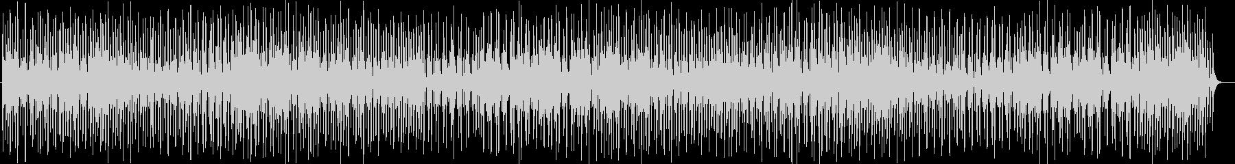 癒し系シンセサイザーなどのサウンドの未再生の波形