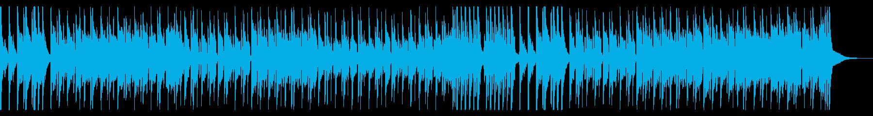 豪華絢爛な中華風BGMの再生済みの波形