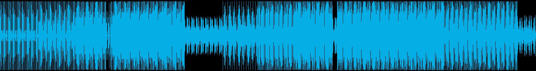 ラウンジ、テクノロジー。の再生済みの波形