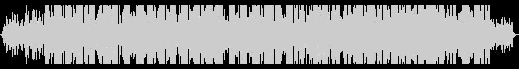 クールなシンセ曲の未再生の波形