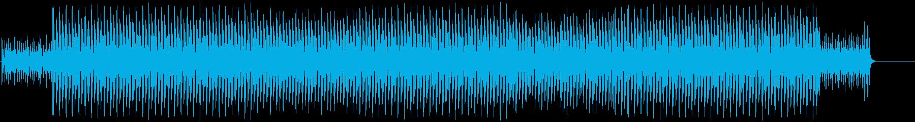 情熱的で躍動感のあるラテンロックの再生済みの波形
