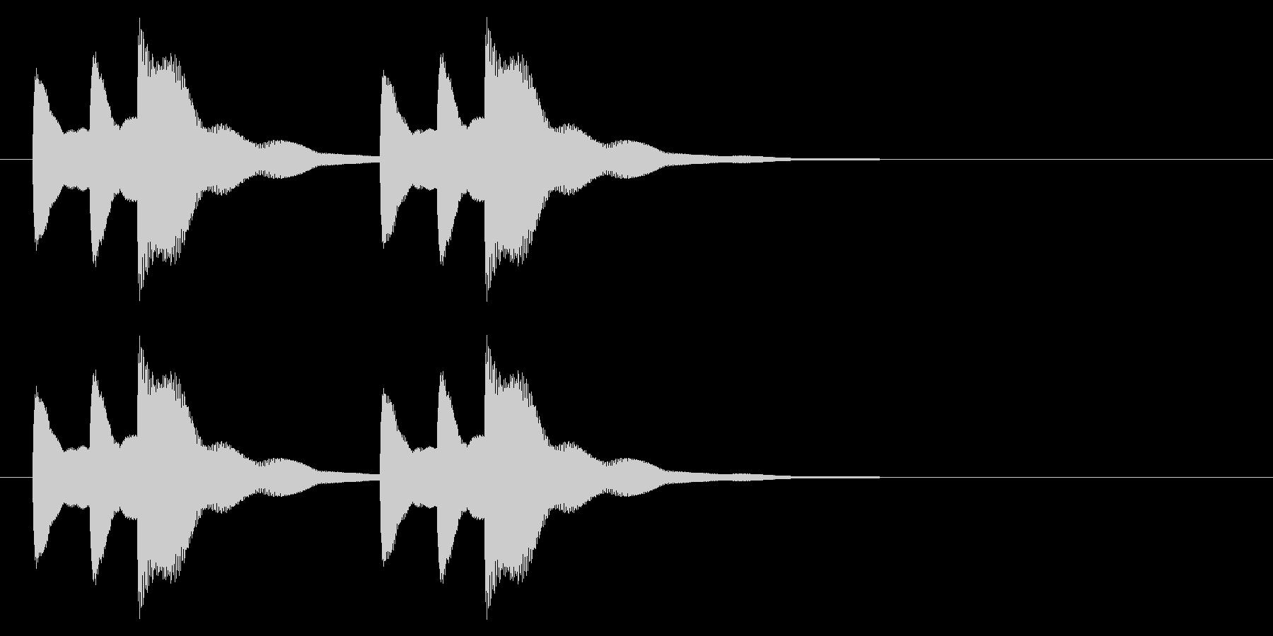 ニュース アラート04-2の未再生の波形