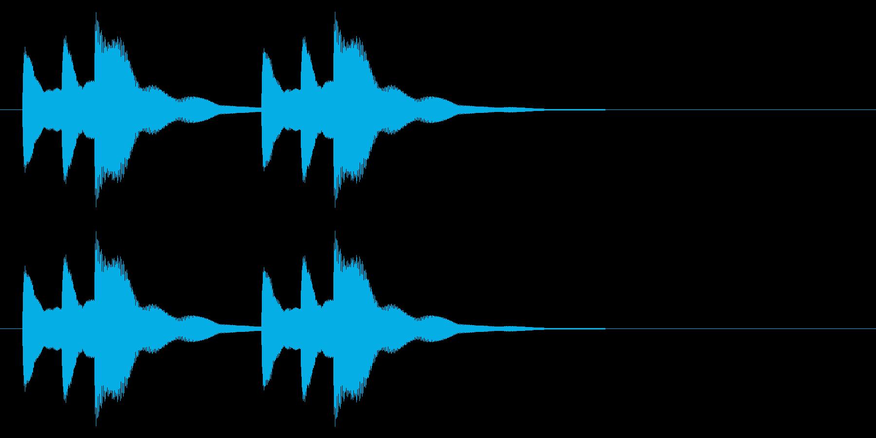 ニュース アラート04-2の再生済みの波形