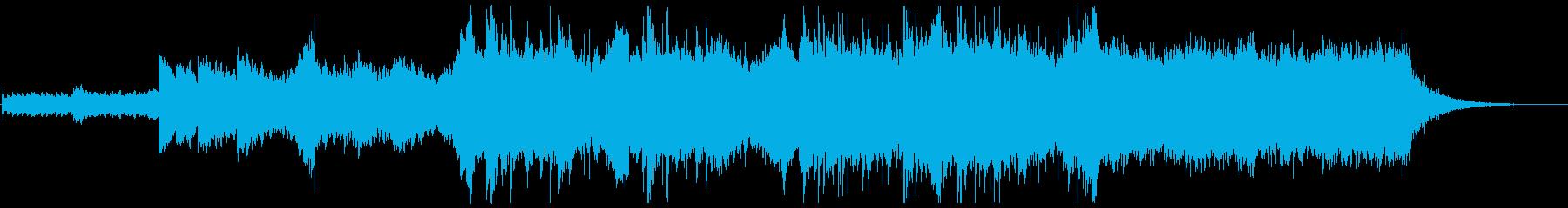 神秘的アンビエント、ミニマルなチルアウトの再生済みの波形