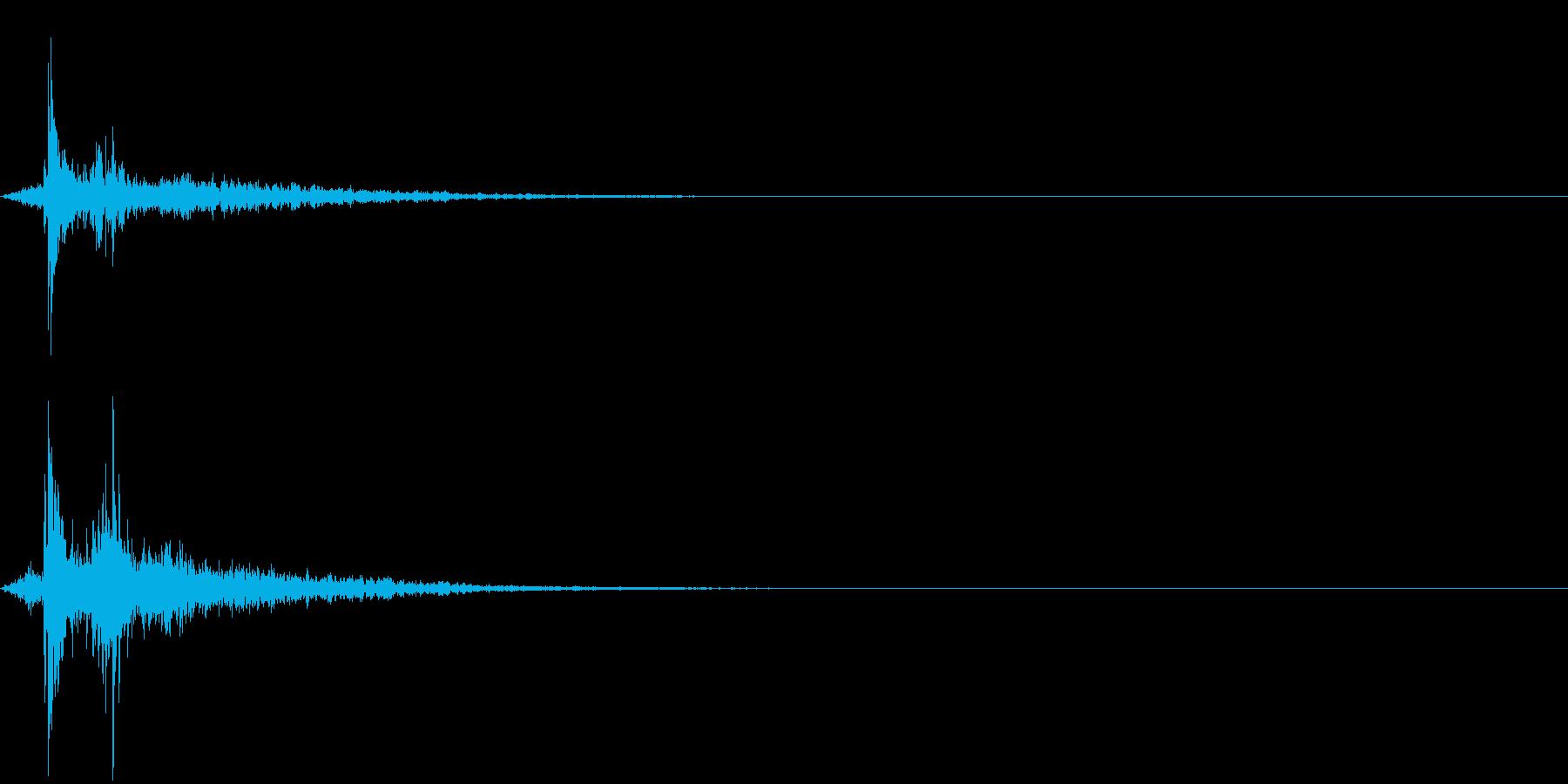 水滴 2の再生済みの波形