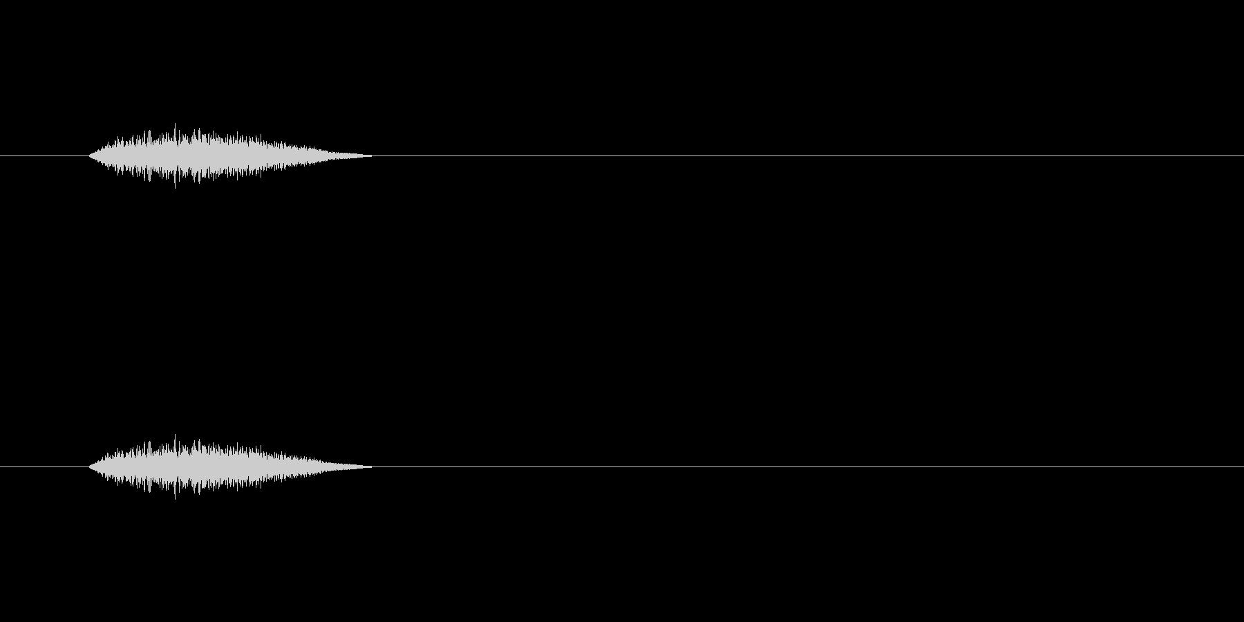 【ショートブリッジ29-4】の未再生の波形