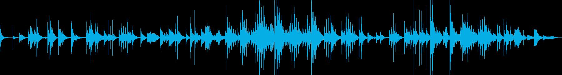 3分ソング 無調 ピアノ の再生済みの波形