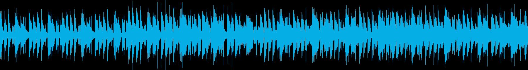 ノリの良いファンクにラテンギターをプラスの再生済みの波形