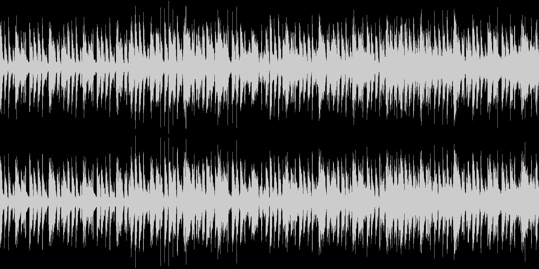 ノリの良いファンクにラテンギターをプラスの未再生の波形