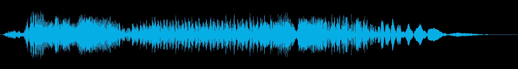 ショートスクラッチディストーション...の再生済みの波形