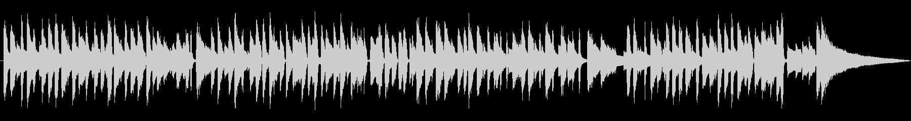 ジャズラウンジピアノソロ/スウィング風味の未再生の波形