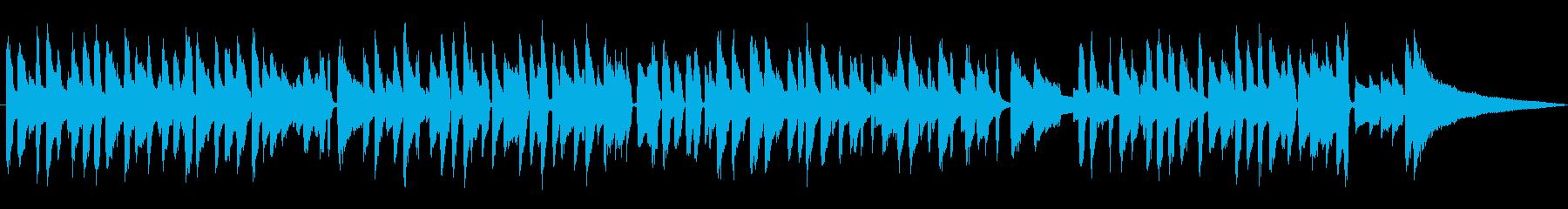 ジャズラウンジピアノソロ/スウィング風味の再生済みの波形