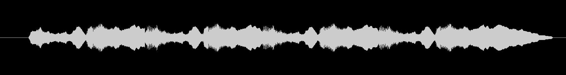 ピーポーピーポーという救急車のサイレン音の未再生の波形