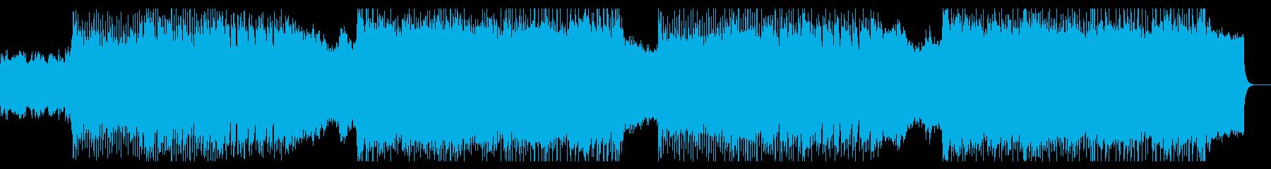 和風ヘヴィロック 戦いの始まりをイメージの再生済みの波形