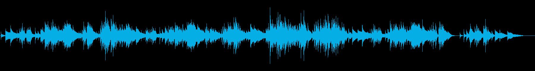 ハープソロ『トロイメライ』の再生済みの波形