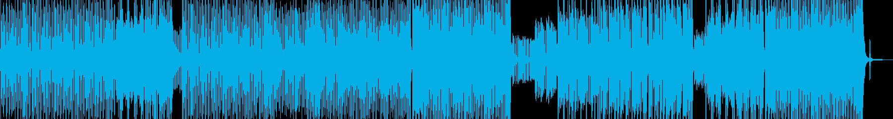 お菓子の国・パステル調テクノポップ Aの再生済みの波形